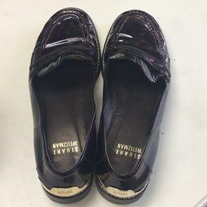 Tortoiseshell Stuart Weitzman shoes